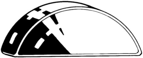Clavette disque DIN 6888 Acier DIN6882 Brut 60 2,5X3,7MM