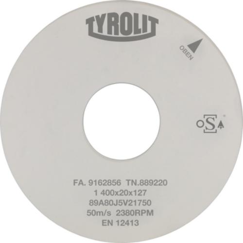 Tyrolit Köszörű korong 450X25X203,2