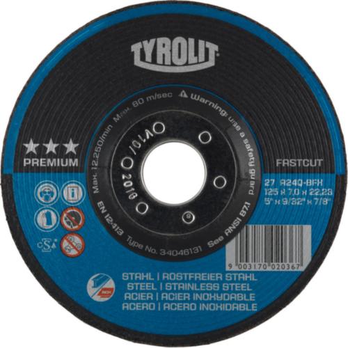 Tyrolit Disque de meulage 5293 115X7,0X22,2