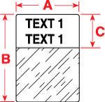 Brady Labels TLS2200 PTL-34-427 50PC