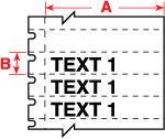 Brady Labels TLS2200 PTL-40-412 750PC