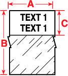Brady Etiquettes PTPSL-20-422 100PC