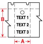 Brady Labels TLS2200 PTL-36-109 250PC
