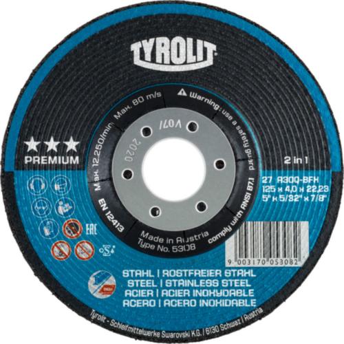 Tyrolit Grinding disc 125X4,0X22,23