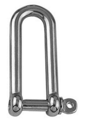 D-shackle Stainless steel A4