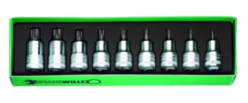 Stahlwille Nástrčné hlavice - sady 54TX/9 54TX/9