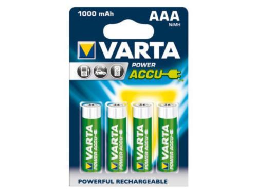 Varta Battery 56763101404 AAA 1000MAH 4PC