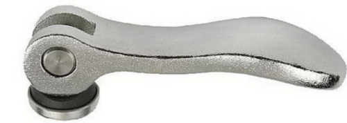 KIPP Cam levers, external thread Otel inoxidabil 1.4308/1.4305