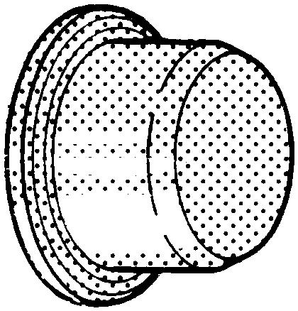 VEMO Trubková zátka č. 2244 Plast Polyester