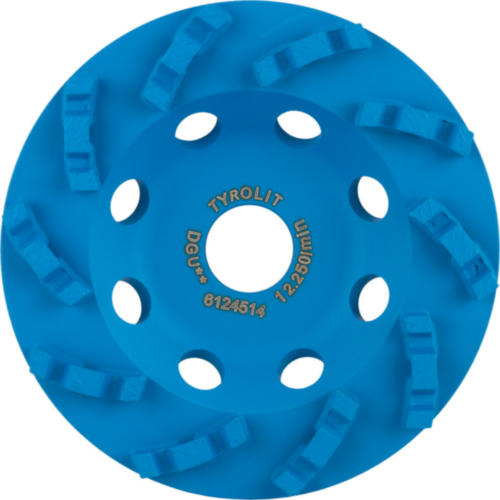 Tyrolit Diamond cup disc 100X18X22,23/16