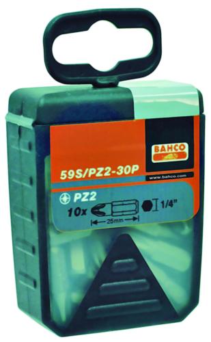 BAHC 30PC BITS 25MM 1/4 DR 59S/PZ2-30P