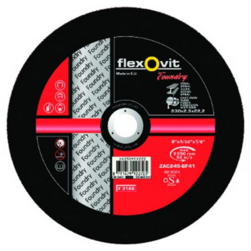 Flexovit Cutting wheel ZAC24S 230X3X22,23