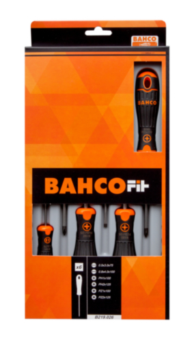 BAHC 6PC SCREWDRIVER B219.026