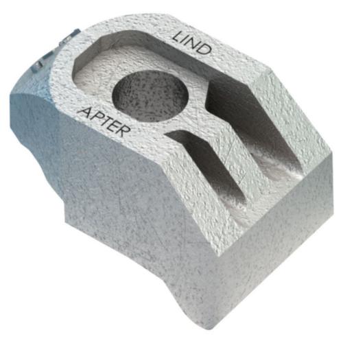 Heavy duty girder clamp component Żeliwo sferoidalne Ocynkowane na gorąco AF krótki