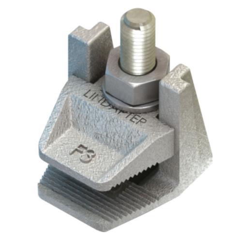 Přírubová svorka Z tvárné litiny Žárový zinek F3