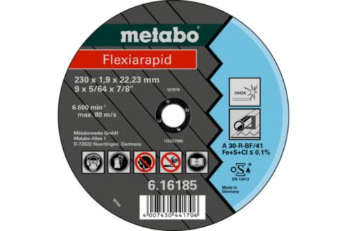 Metabo Flexiarapid 150X1,6X22,23 TF41