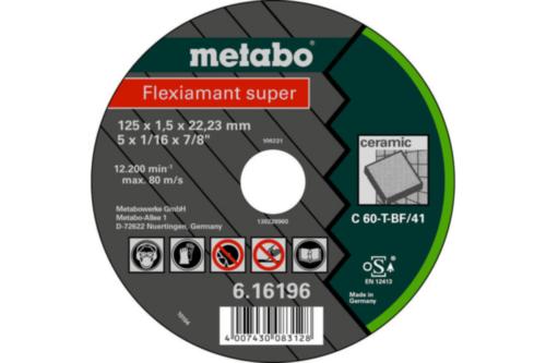 Metabo Flexiamant super 115X1,5X22,2 ,TF41