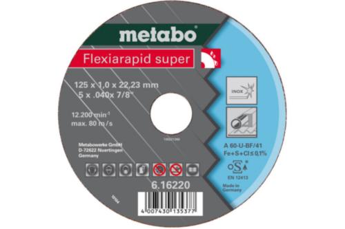 Metabo Flexiarapid super 125X1,6X22,23 TF41