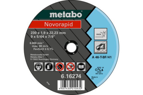 Metabo Novorapid 115X1,0X22,23 TF41