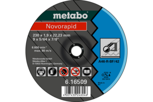 Metabo Novorapid 230X1,9X22,23 TF42
