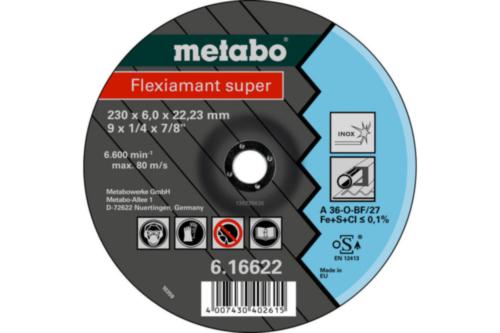 Metabo Flexiamant super 115X6,0X22,23 SF27