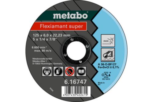 Metabo Flexiamant super 125X6,0X22,23 SF27