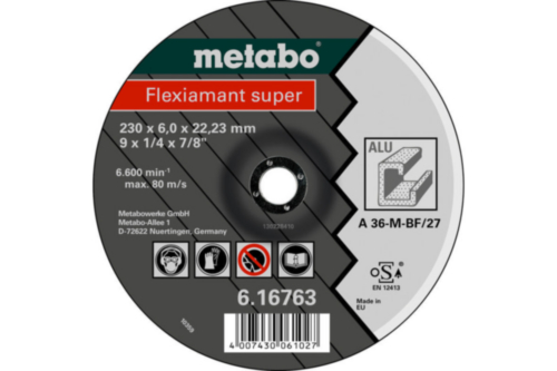 Metabo Flexiamant super 125X6,0X22,23 SF27