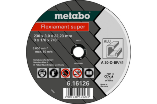 Metabo Flexiamant super 150X3,0X22,23 TF41