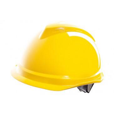 MSA Safety helmet V-Gard Yellow YELLOW