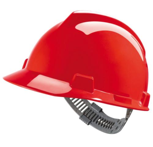 MSA Safety helmet V-Gard Red RED