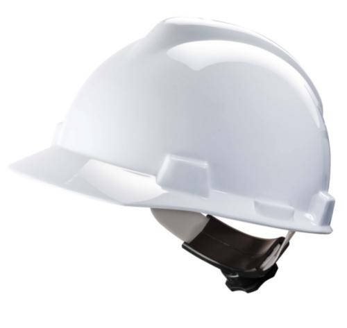 MSA Safety helmet V-Gard 4-point textile V-Gard White WHITE