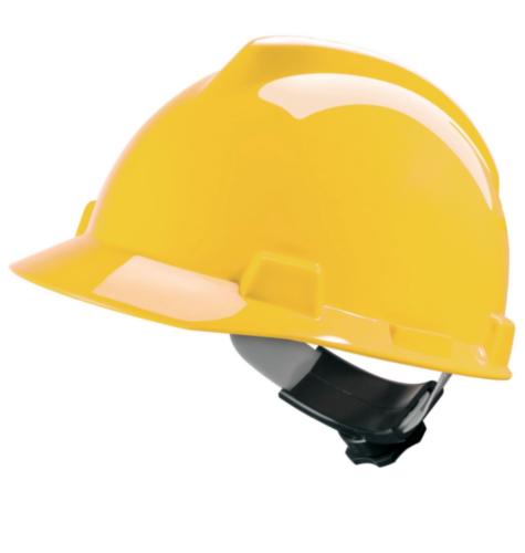 MSA Safety helmet V-Gard 4-point textile V-Gard Yellow YELLOW
