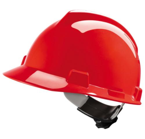 MSA Safety helmet V-Gard 4-point textile V-Gard Red RED
