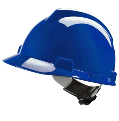 MSA Safety helmet V-Gard 4-point textile V-Gard Blue BLUE