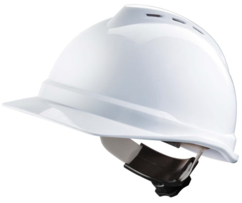 MSA Safety helmet V-Gard 4-point textile 500 White White