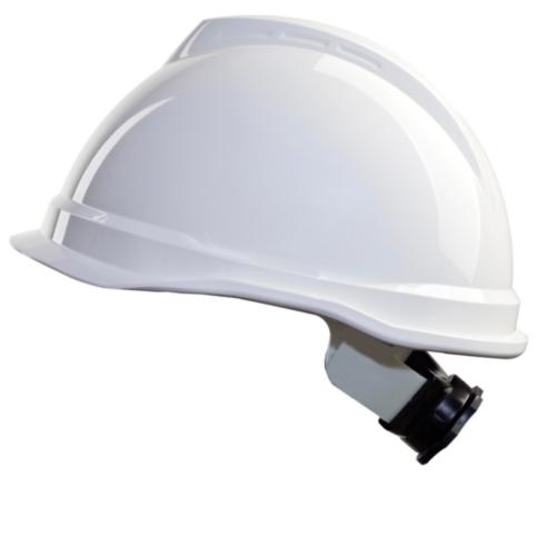 MSA Safety helmet V-Gard 4-point textile 520 White WHITE