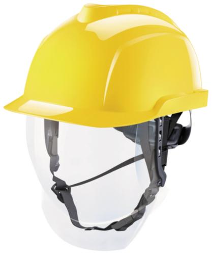 MSA Casques de chantier V-gard 950 Jaune GEEL