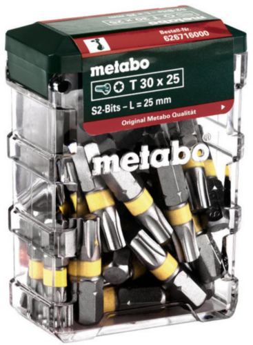 Metabo Seturi biți 25PC T30 SP