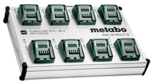 Metabo Oplaadstation ASC 55 MULTI 8
