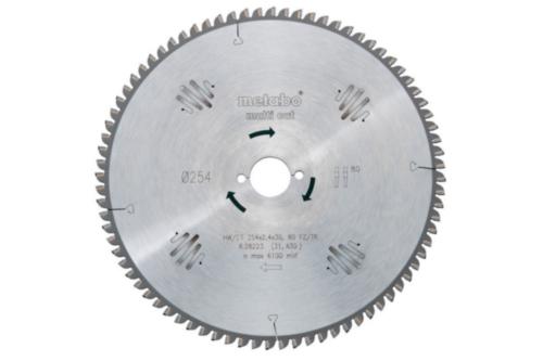 Metabo Circular saw blade HW/CT 210X30 64 WZ