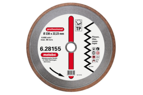 Metabo Diamond cutting disc 150X22,23MM TP