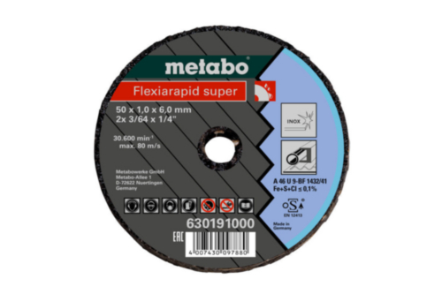 Metabo Small cutting disc 76X1,1X6MM