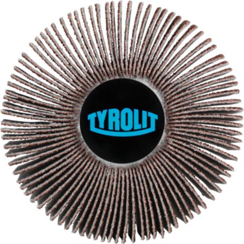 Tyrolit Lamellenschruppscheibe 40X10 6X40 K60