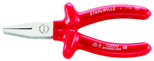 Stahlwille Kleště s plochými čelistmi 6507 TYPE 7 160MM