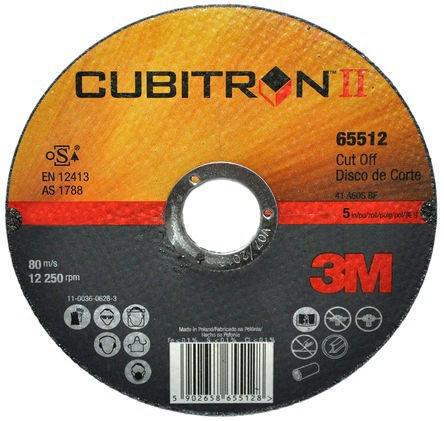 3M Cubitron II Doorslijpschijf 36+ 125X1X22MM