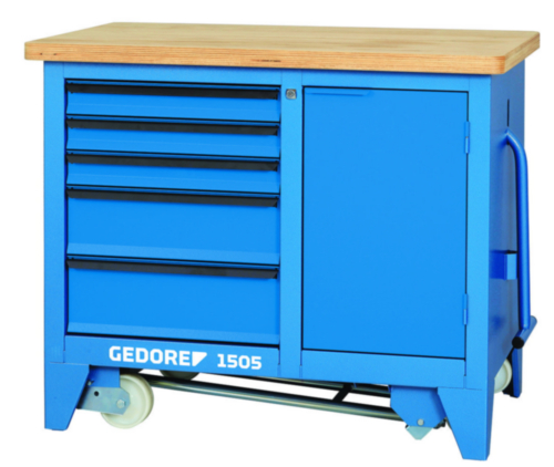 GEDO MOBILE WORKBENCH WITH VICE 6621860