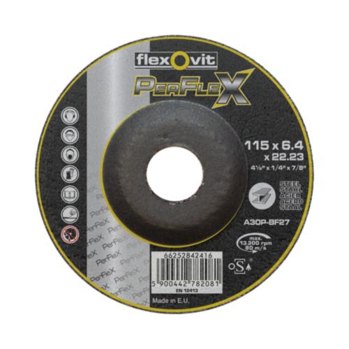 Flexovit Deburring disc 115X6,4X22,23 T27