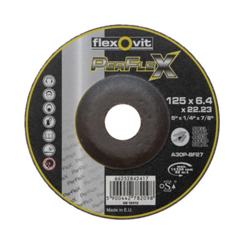 Flexovit Deburring disc 125X6,4X22,23 T27