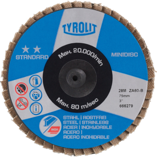 Tyrolit Deburring disc 50 K80