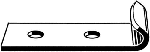 QUICK SYSTEM Sluithaak voor beugelsluiting Roestvaststaal (RVS)